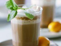 Heiße Schokolade mit Minze und Orange Rezept