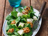 Herbstlicher Feldsalat mit Gorgonzola Rezept