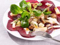 Herbstsalat mit Maronen, Roter Bete und Birne Rezept