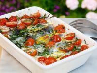 Heringsauflauf mit Käse und Ei Rezept