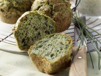Herzhafte Grünkohlmuffins mit Schnittlauchquark Rezept