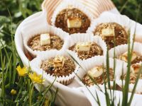 Herzhafte Hackfleisch-Muffins mit Feta