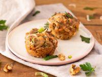 Herzhafte Lachs-Lauch-Muffins mit Walnüssen Rezept