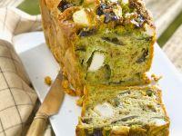 Herzhafter Kuchen mit Feta und Auberginen Rezept