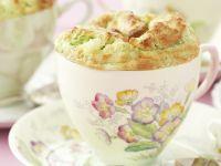 Herzhaftes Soufflé mit Brokkoli Rezept