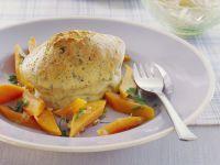Herzhaftes Soufflee mit Kräutern und Gemüse Rezept