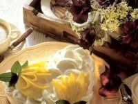 Herztorte mit Mangocreme Rezept