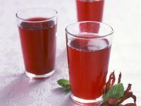 Hibiskus-Eistee (Bissap) Rezept