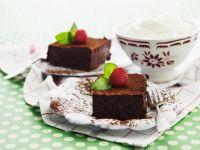 Himbeer-Brownies Rezept