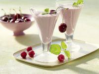 Himbeer-Kirsch-Smoothie Rezept