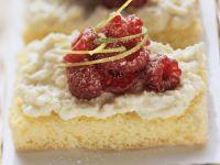Himbeer-Ricotta-Kuchen Rezept