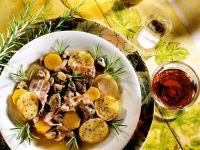 Hirsch-Kartoffeleintopf Rezept