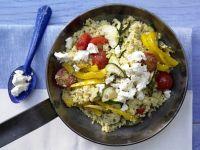 Hirse-Gemüse-Pfanne Rezept