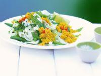 Hirsesalat mit Chinakohl und Zuckerschoten Rezept