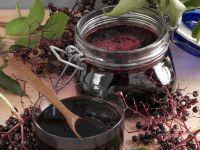 Holunderbeerenkompott und Holunderkonfitüre Rezept