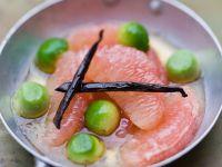 Honig-Grapefruits mit Avocado Rezept
