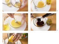 Honig-Senf-Vinaigrette herstellen