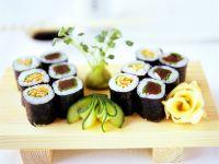 Hoso-Maki-Sushi Rezept