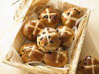 Hot Cross Buns Rezept