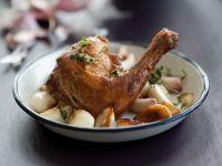 Hühnchen mit Knoblauch Rezept