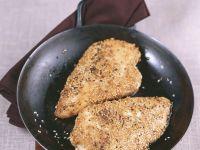 Hühnchen mit Sesamkruste Rezept