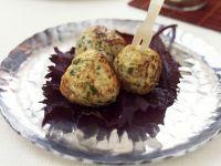 Hühnerbällchen mit Koriandergrün Rezept