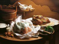 Huhn im Kräuter-Joghurt-Mantel Rezept