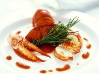 Hummer mit Tomatensauce Rezept