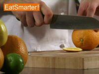 Wie Sie eine Orange richtig in Fruchtfilets teilen (filetieren)