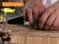 Wie Sie Minzblätter effektiv in feine Streifen schneiden