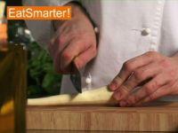 Wie Sie eine Pastinake am besten in Würfel schneiden