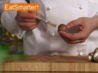 Wie Sie Champignons kinderleicht putzen