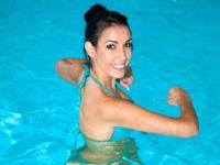 Neuer Fitnesstrend: Aqua Zumba