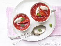 Rezepte mit Erdbeersirup
