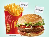 Kalorientabelle McDonald's: Wie dick macht Fast Food?