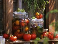 In Öl marinierte Tomaten Rezept