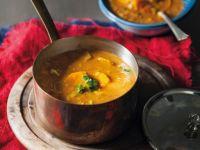 Indische Gemüse-Hähnchen-Suppe Rezept