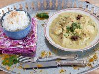 Indisches Curry mit Fisch Rezept