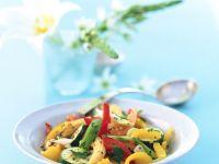 Ingwer-Gemüse mit Maiskölbchen Rezept