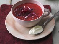 Ingwer-Rote-Bete-Suppe Rezept