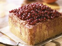 Ingwerkuchen mit Granatapfel-Topping Rezept