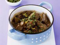 Irish Stew mit würziger Kräutermischung (Gremolata) Rezept