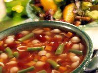 Italienische Gemüsesuppe mit Nudeln Rezept