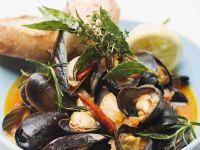 Italienische Muschelsuppe (Zuppa di cozze) Rezept