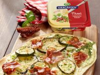 Italienischer Kräuter-Flammkuchen Rezept