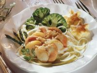 Jacobsmuscheln mit Gemüse Rezept