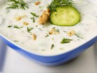 Joghurt-Gurkensuppe Rezept