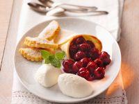 Joghurt-Kirsch-Mousse Rezept
