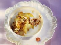 Joghurt mit gebratenem Appfel Rezept