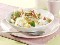 Joghurt mit Honig und Apfel Rezept